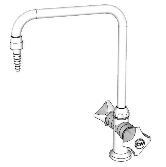 llave mezcladora cuello de ganso