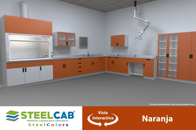 muebles_laboratorio_naranja